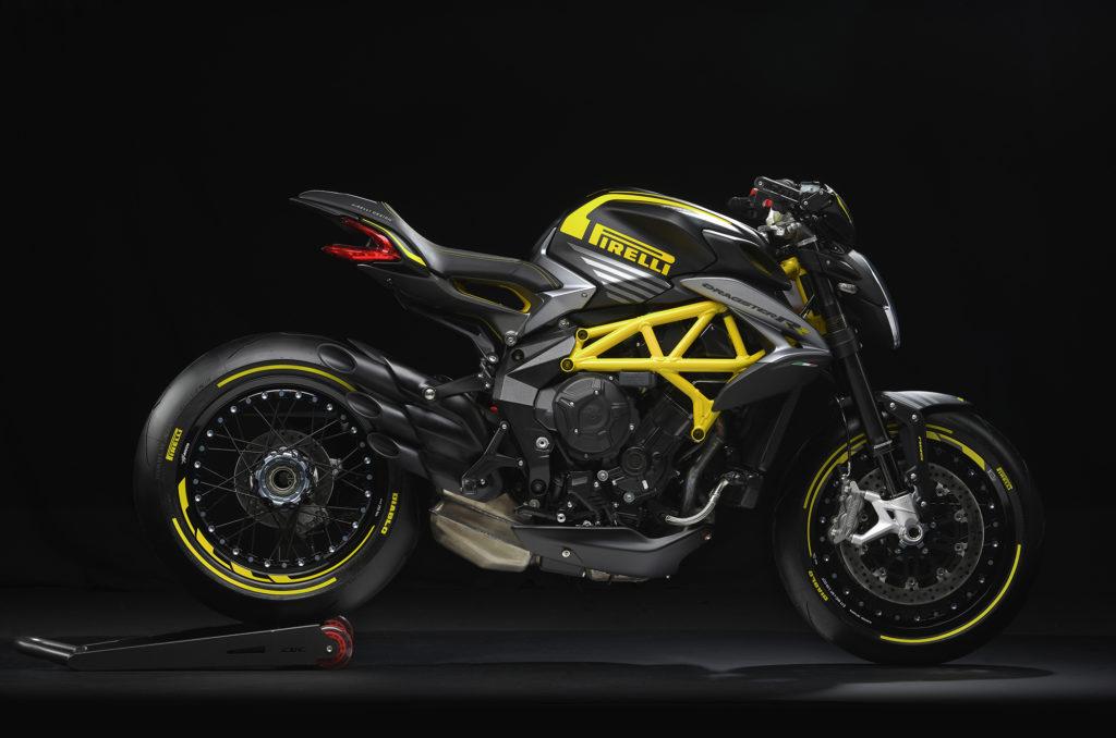 DRAGSTER 800 RR PIRELLI, la última creación de MV Agusta y Pirelli Design