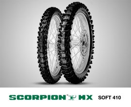 SCORPION MX SOFT 410